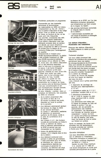 SIEG Vevey-Montreux Service intercommunal d'épuration des eaux, page 5
