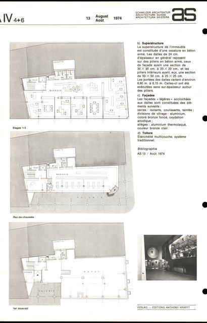 Bâtiment administratif et commercial, page 2