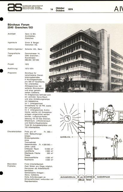 Bürohaus Forum, page 1
