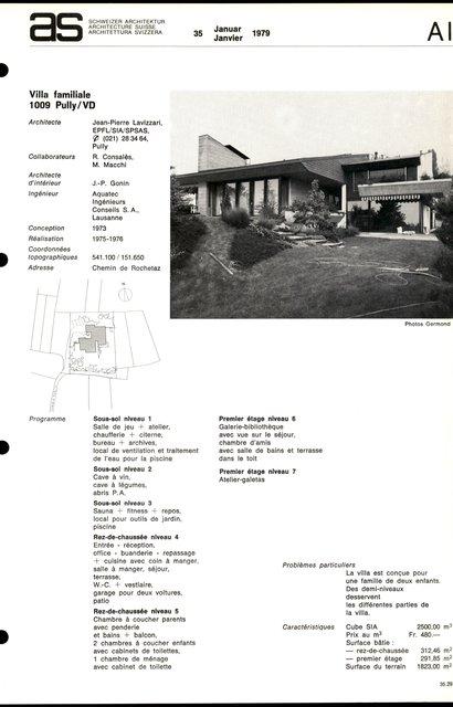 Villa familiale, page 1