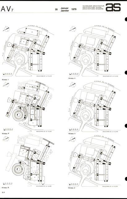 Reconstruction de l'Hôpital cantonal, page 4