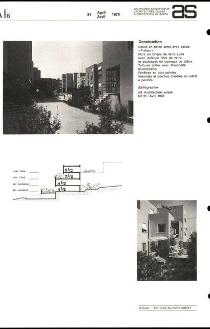 Logements à but social, Grangette - Praz Séchaud, page 4