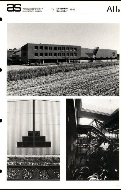 Bâtiment industriel et commercial, page 3