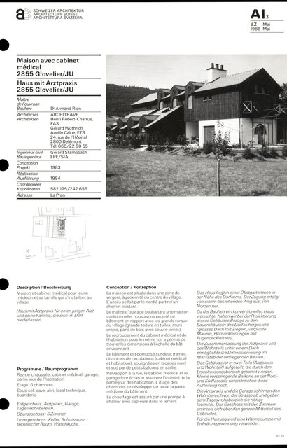 Maison avec cabinet médical, page 1
