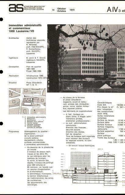 Immeubles administratifs et commerciaux, page 1