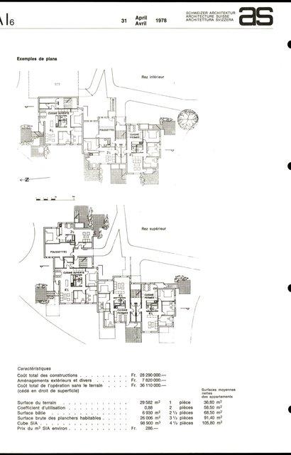 Logements à but social, Grangette - Praz Séchaud, page 2