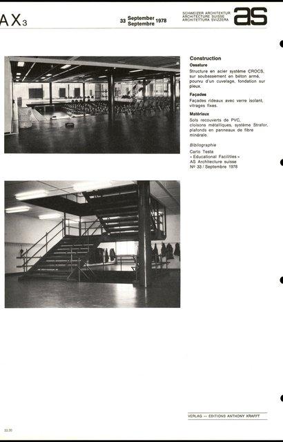 Ecole secondaire et de commerce, page 4