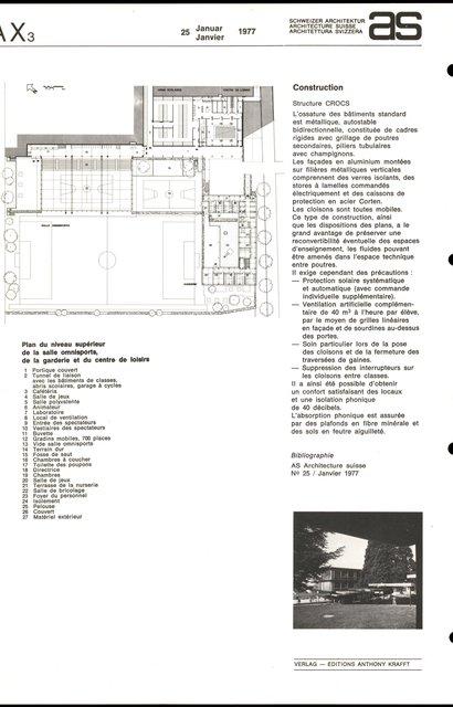 Groupe scolaire des Bergières, page 6