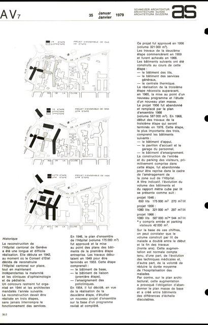 Reconstruction de l'Hôpital cantonal, page 2