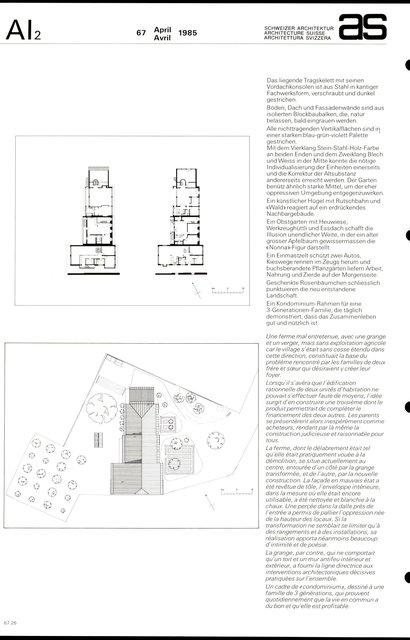 Transformation de la propriété Erlimatt, page 2