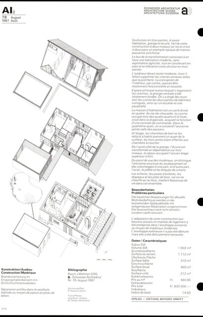 Maison paysanne Waldegg, page 2