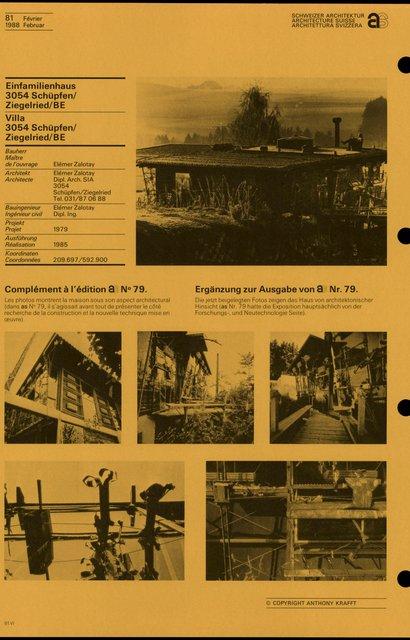 Complément à l'édition AS N° 79., page 1