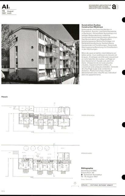 Complexe d'habitation «Im Russen», page 6