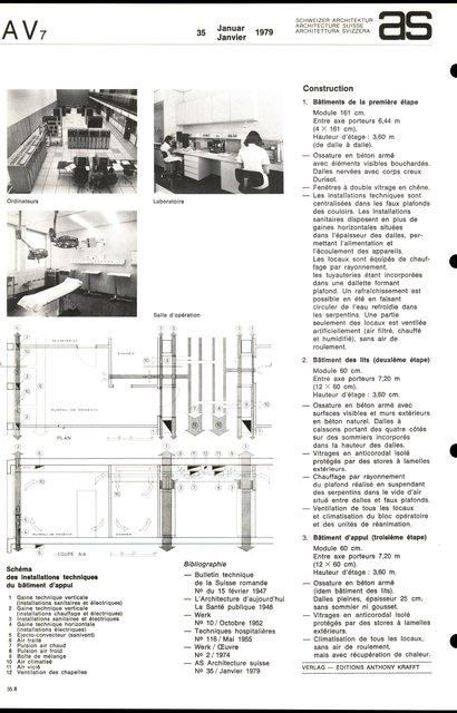Reconstruction de l'Hôpital cantonal, page 8