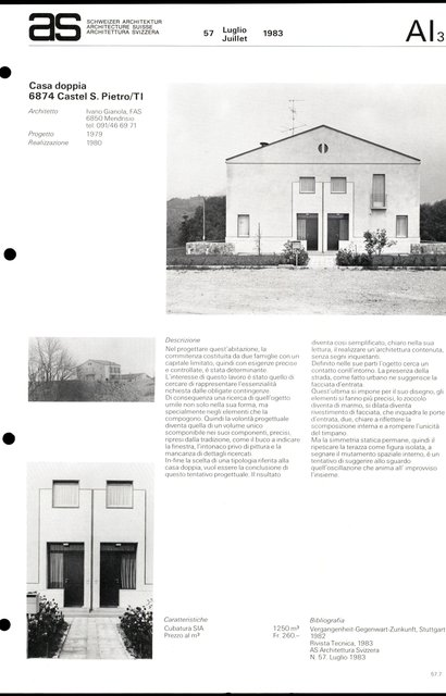 Casa doppia, page 1