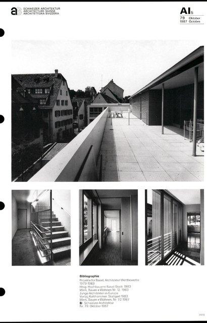 Deux immeubles d'habitation, page 5