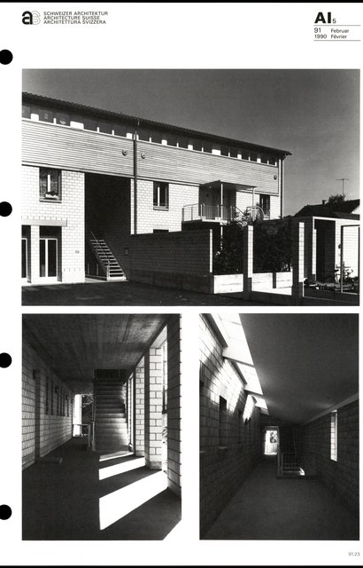 "Grand ensemble d'habitation ""Im Büel"", page 3"