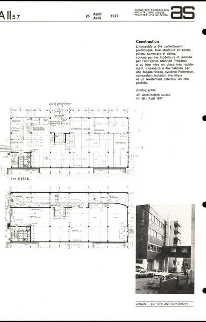 Dépôt et atelier, page 2