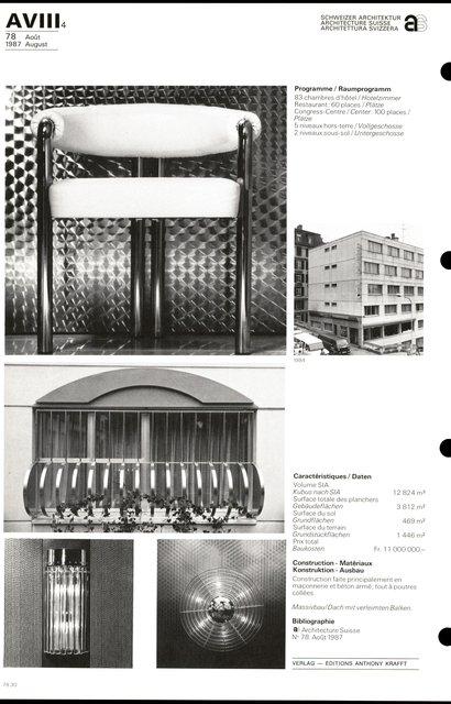 Rénovation Hôtel Agora, page 4