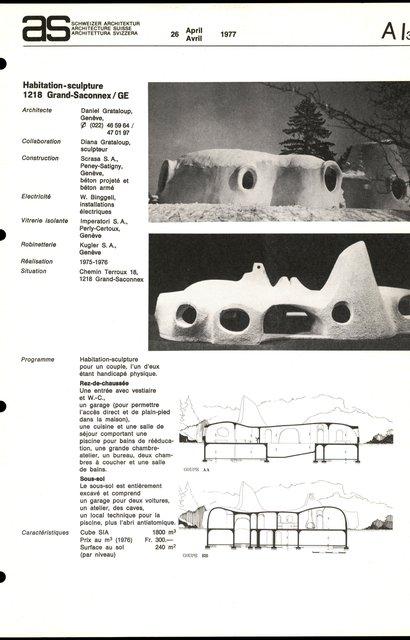 Habitation-sculpture, page 1