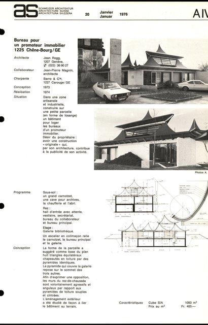 Bureau pour un promoteur immobilier, page 1