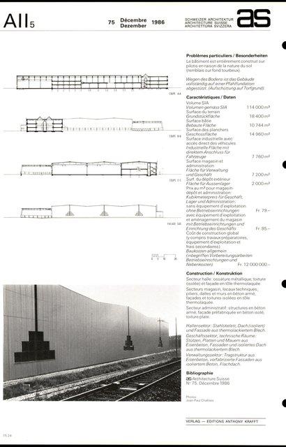Bâtiment industriel et commercial, page 4