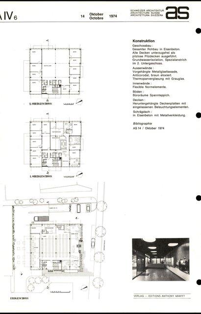 Betriebsgebäude und Gewerbehaus, page 2