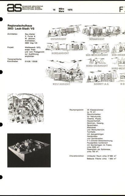 Regionalschulhaus, page 1
