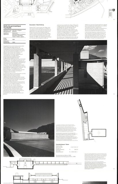 Salle de gymnastique Turnhalle, page 1