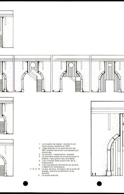 Nouvelle reconversion d'un rural et réhabilitation d'un porche, page 4