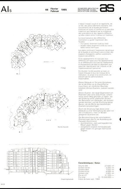Immeuble d'habitation, page 2