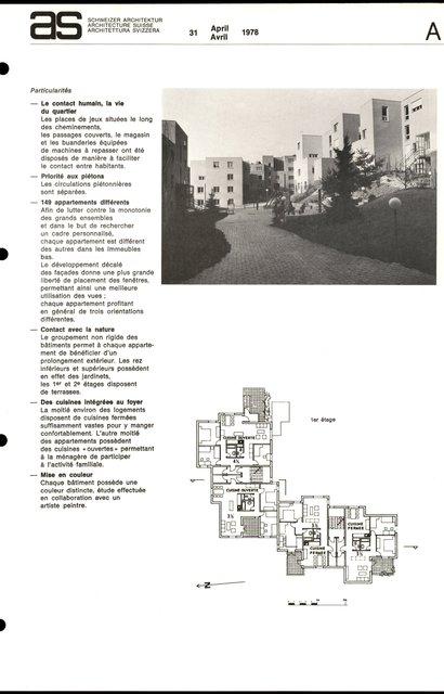 Logements à but social, Grangette - Praz Séchaud, page 3