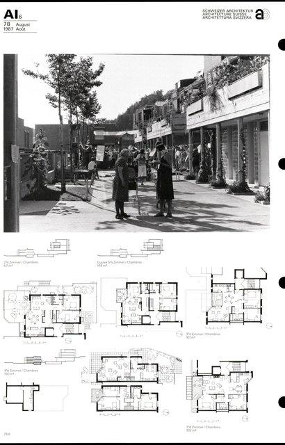 Cité d'habitation Hintere Aumatt, page 6