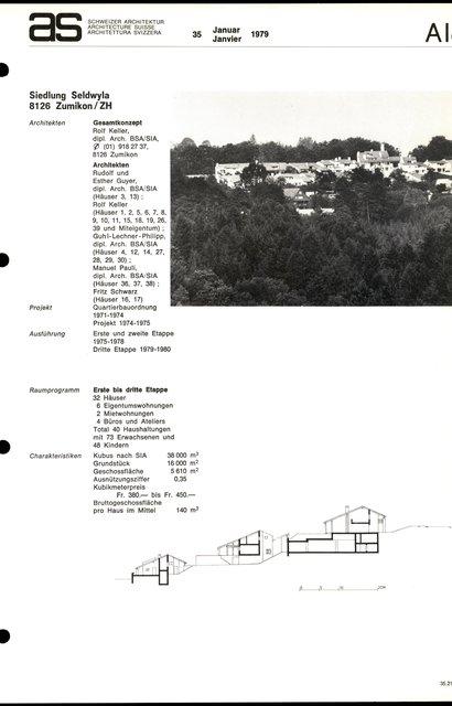 Siedlung Seldwyla, page 1