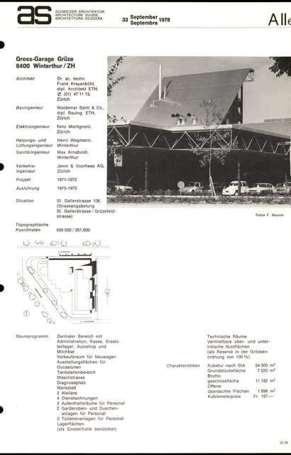Gross-Garage Grüze, page 1