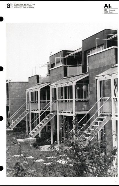 Cité d'habitation Hintere Aumatt, page 7