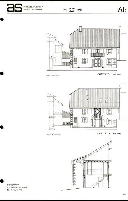 Nouvelle reconversion d'un rural et réhabilitation d'un porche, page 3
