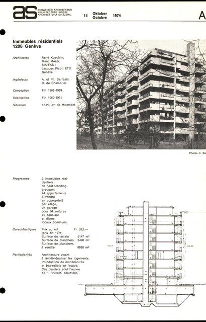 Immeubles résidentiels, page 1