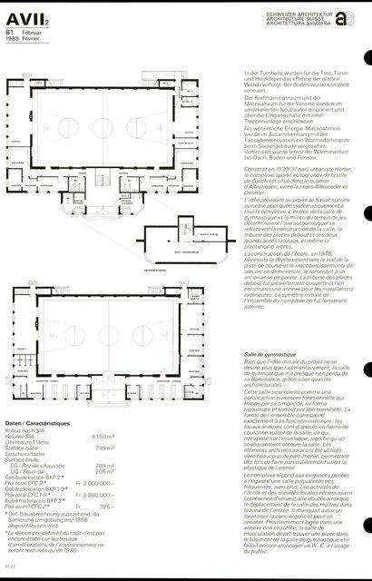 Complexe sportif « Utogrund» Améliorations, transformation et construction d'une annexe, page 2