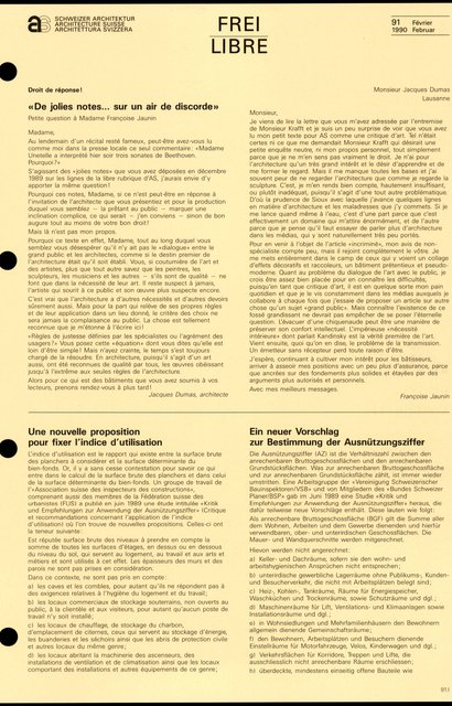 «De jolies notes... sur un air de discorde», page 1