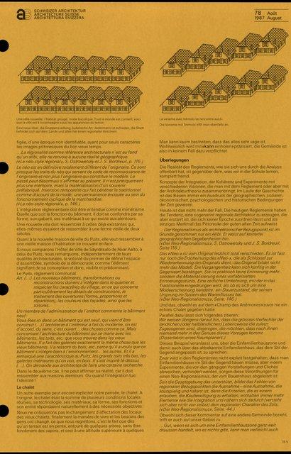 Règlements et image architecturale, page 6