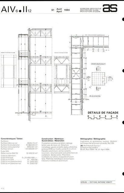 Siège européen Hewlett & Packard SA, page 6