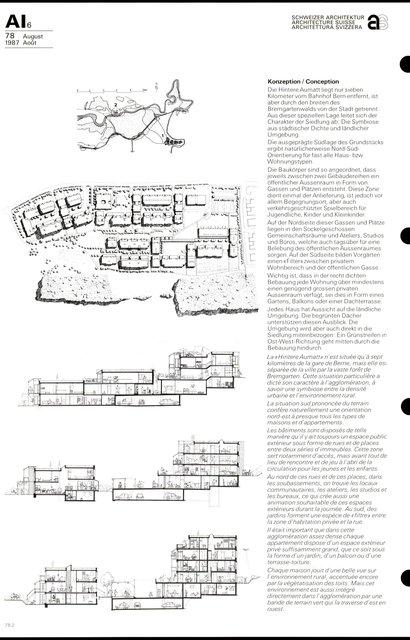 Cité d'habitation Hintere Aumatt, page 2