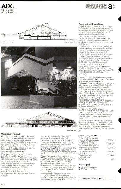 Centre de Savigny Salle communautaire et groupe commercial, page 4
