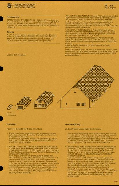 Règlements et image architecturale, page 8