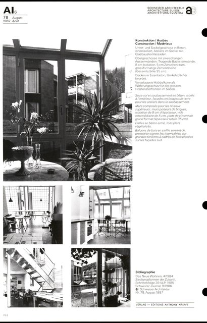 Cité d'habitation Hintere Aumatt, page 8